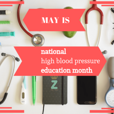 It's National High Blood Pressure Education Month!
